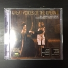 Great Voices Of The Opera II - Leo Slezak / Max Lorenz / Ivar Andresen / Franz Völker 2CD (M-/M-) -klassinen-