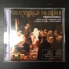 Great Voices Of The Opera II - Ninon Vallin / Germaine Lubin / Florence Austral / Mary Garden 2CD (M-/M-) -klassinen-