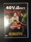 40 v. ja neitsyt (xxl version) DVD (M-/M-) -komedia-