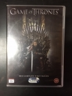 Game Of Thrones - Kausi 1 5DVD (VG+-M-/M-) -tv-sarja-