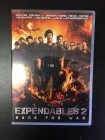 Expendables 2 - Back For War DVD (VG+/M-) -toiminta-