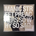 Manic Street Preachers - So Why So Sad CDS (VG/M-) -alt rock-