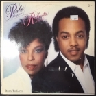Peabo Bryson & Roberta Flack - Born To Love LP (VG+/VG) -r&b-