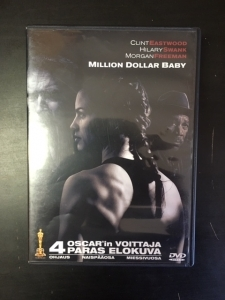 Million Dollar Baby DVD (M-/M-) -draama-