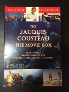 Jacques Cousteau - The Movie Box 3DVD (VG+-M-/VG+) -dokumentti-