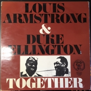 Louis Armstrong & Duke Ellington - Together 2LP (VG/VG+) -swing-