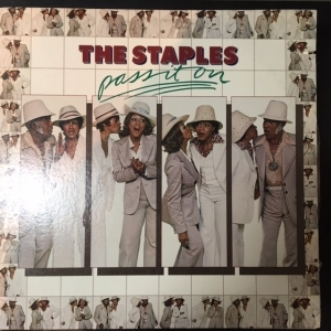Staples - Pass It On LP (VG+/VG+) -funk/disco-
