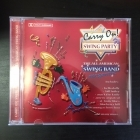 All American Swing Band - Carry On! Swing Party CD (VG+/VG+) -swing-