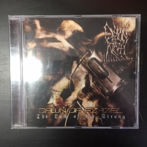 Dawn Of Azazel - The Law Of The Strong CD (VG+/M-) -death metal-