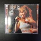 Tina Turner - I Want To Take You Higher CD (M-/VG+) -pop rock-