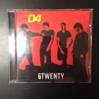D4 - 6Twenty CD (VG+/M-) -garage punk-