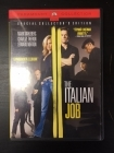 Italian Job (collector's edition) DVD (M-/M-) -toiminta-