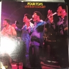 Four Tops - Live & In Concert LP (M-/VG+) -soul-