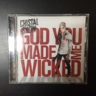 Cristal Snow - God You Made Me Wicked CD (M-/M-) -electropop-