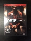 Hostel Part II (unrated director's cut) DVD (VG+/M-) -kauhu-
