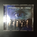 Poverty's No Crime - One In A Million CD (VG/VG+) -prog metal-