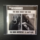 Neighbors - The More Money One Has... The More Important Is One's Life CDEP (VG+/M-) -hardcore-