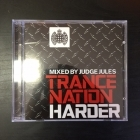 Judge Jules - Trance Nation Harder 2CD (M-/VG+) -trance-