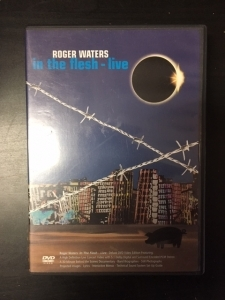 Roger Waters - In The Flesh (Live) DVD (VG+/M-) -prog rock- (R0 NTSC)