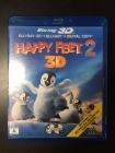 Happy Feet 2 Blu-ray 3D+Blu-ray (M-/M-) -animaatio-