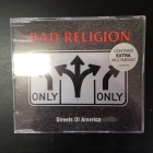 Bad Religion - Streets Of America CDS (VG/M-) -punk rock-