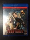 Iron Man 3 Blu-ray (VG/M-) -toiminta-