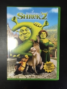 Shrek 2 DVD (VG/M-) -animaatio-
