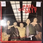 Paul Oxley's Unit - Living In The Western World LP (G/VG) -pop rock-