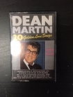 Dean Martin - 20 Golden Love Songs C-kasetti (M-/M-) -jazz pop-