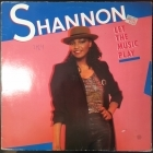 Shannon - Let The Music Play LP (VG+/VG+) -freestyle-