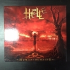 Hell - Human Remains (limited edition) 2CD (M-/VG+) -heavy metal-