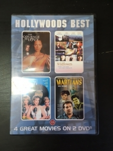 Hollywoods Best (Courage To Love / Wildflowers / My Boyfriends Back / Martians Go Home) 2DVD (VG+/M-) -draama/komedia-