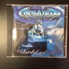 Insania - World Of Ice CD (VG+/M-) -power metal-