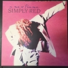 Simply Red - A New Flame LP (VG/M-) -synthpop-
