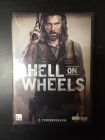 Hell On Wheels - Kausi 2 3DVD (VG/M-) -tv-sarja-