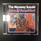 Mooney Suzuki - Alive & Amplified CD (M-/VG+) -garage rock-