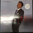 Johnny Mathis - Once In A While LP (VG+/VG+) -easy listening-