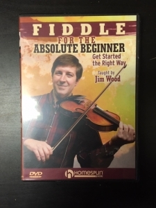 Jim Wood - Fiddle For The Absolute Beginner DVD (G/M-) -opetus dvd- (R1 NTSC/ei suomenkielistä tekstitystä)