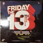 Friday The 13th LaserDisc (VG/VG+) -kauhu-