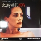 Sleeping With The Enemy LaserDisc (VG+/M-) -jännitys-