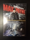 Max Payne / The Happening 2DVD (VG+-M-/M-) -toiminta/draama-