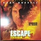 Escape From L.A. LaserDisc (VG-VG+/M-) -toiminta-