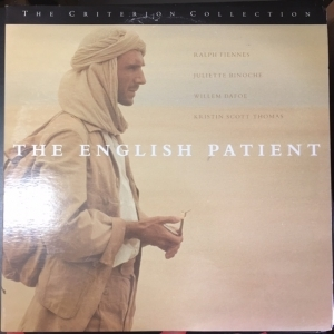 English Patient (criterion collection) LaserDisc (VG+-M-/VG+) -draama-