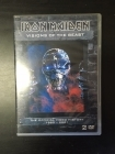 Iron Maiden - Visions Of The Beast 2DVD (VG-VG+/M-) -heavy metal-
