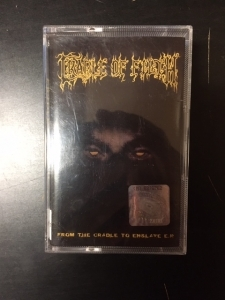 Cradle Of Filth - From The Cradle To Enslave E.P. C-kasetti (VG+/M-) -black metal/death metal-