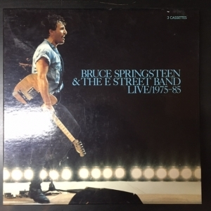 Bruce Springsteen & The E-Street Band - Live 1975-85 3xC-kasetti (VG+/VG) -roots rock-