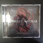 Threat Signal - Under Reprisal CD (VG/M-) -metalcore-