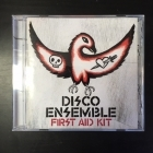 Disco Ensemble - First Aid Kit CD (M-/M-) -post-hardcore-