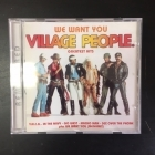 Village People - We Want You (Greatest Hits) CD (VG+/M-) -disco-