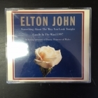 Elton John - Something About The Way You Look Tonight CDS (VG/M-) -pop rock--